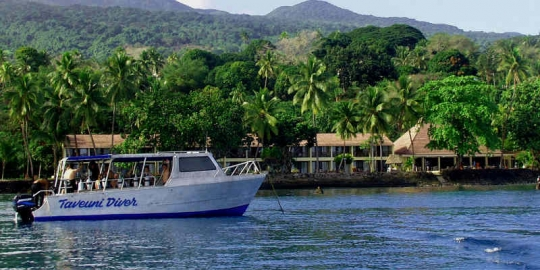 ... Garden Island Resort For Your Taveuni Scuba Dive Vacations ...