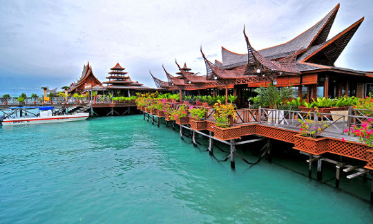 Image result for Mabul Water Bungalows