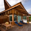 Borneo Villa Jacuzzi and private balcony