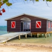 Blackbird Caye Resort's scuba diving centre