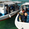 SMART speed boats, ready to take you diving in Sipadan