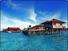 Sipadan-Kapalai Resort - winner of the Dive The World Resort of the Year Award 2010