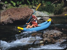 River rafting is a great day out in Viti Levu - photo courtesy of the Fiji Visitors Bureau