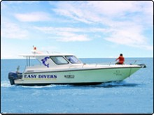 Koh Samui diving daytrip speedboat, the White Pearl