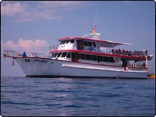 The MV Similan Queen day trip diving boat in Phuket