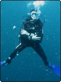 Paolo Pastore Stocchi, diving with Dive The World
