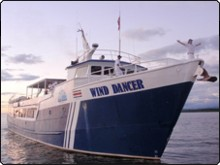 Wind Dancer takes you cruising to Cocos Island